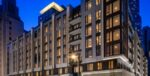Rental apartment community developed on a former parking lot in the heart of downtown Los Angeles.